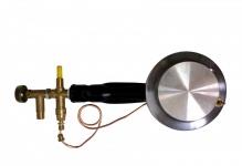 Single Gasbrenner mit Zündsicherung