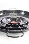 'Vaello' Paellapfanne (65 cm) - schwarz emailliert