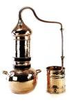 """"""" CopperGarden®"""" Kolonnenbrennerei 3 Liter mit Thermometer"""