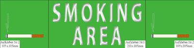 Rauch Zigaretten Tabak Zigarettentabak Shop Verkauf Deko Laden Sticker Aufkleber