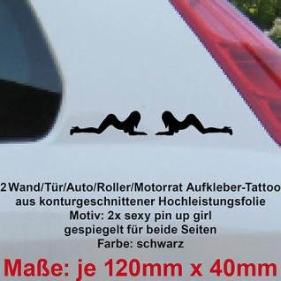 sexy pin up girl Roller Motorrad bike car Auto deko Aufkleber vinyl decal Folie