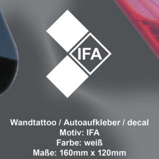 IFA Aufkleber decal Tuning selbstklebende deko Folie DDR Trabant Simson Wartburg