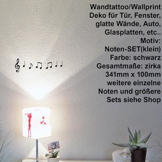Musik Noten Violinschlüssel Notenschlüssel Aufkleber Wandtattoo Autoaufkleber