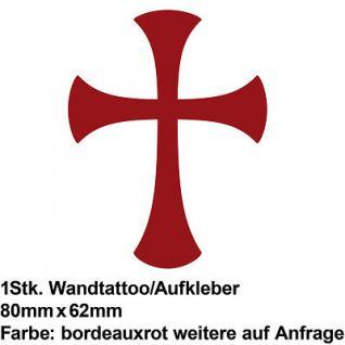 Gothic Cross Kreuz WC Deckel Toilette Klodeckel Deko Folie Wandtattoo Aufkleber
