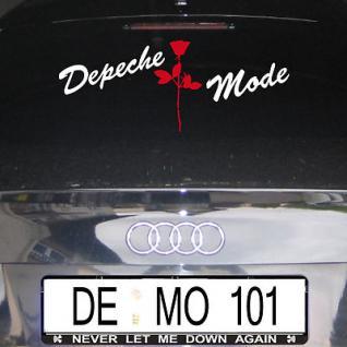 Depeche Mode Violator Rose Autoaufkleber Wandtattoo Sticker Aufkleber sign decal