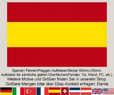 3 Spanien Spain Espana ES spanische Fahne Flagge WM EM Fußball Aufkleber Sticker