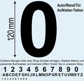 Spind Schrank Werkzeug Umkleide Kabine Tür Fach Regal Nummer 0 Aufkleber Tattoo