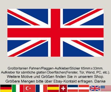 3 GB England Großbritanien englische Fahne Flagge EM Fußball Aufkleber Sticker