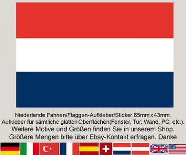 3 Holland Niederlande Fahnen Flagge WM EM Fußball Aufkleber Sticker Hollandfahne