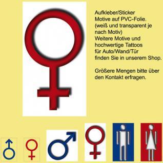 00 WC BAD Toilette Tür Fliesen Frau Zeichen Symbol Hinweis Aufkleber Sticker