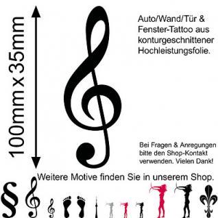 Wandtattoo Kinderzimmerdekoration Musik Note Violinschlüssel Wand Bild Aufkleber