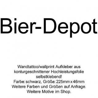 Bier Depot Kühlschrank Wand Tür Aufkleber Deko Folie Kühlschrankdeko Wandtattoo