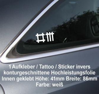 Depeche mode auto scheibe seitenscheibe heck fenster - Auto innen dekorieren ...