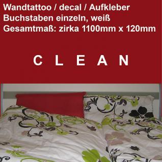 Depeche Mode Wandtattoo Aufkleber Deko Folie sign vinyl decal Schriftzug CLEAN