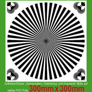 Großer Siemensstern Testmuster test chart Auflösung Grenzauflösung Kamera Video