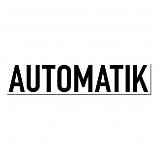 Aufkleber Sticker 20cm Automatik Hinweis Autohandel Auto Pkw Kfz Verkauf Händler
