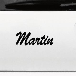 Martin 20cm Kinderzimmer Name Aufkleber Tattoo Deko Folie Auto Fenster Schrank