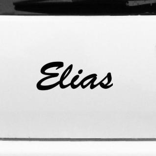 Elias 20cm Kinderzimmer Name Aufkleber Tattoo Deko Folie Auto Fenster Schrank