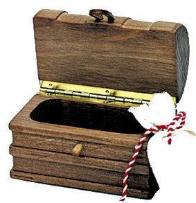 Kinderkram 5540707 - Schatztruhe, Zubehör für Arche/Segelschiff