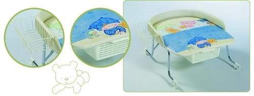 """Geuther 4815 - höhenverstellbarer Wickelaufsatz """"Varix"""" für die Badewanne, Design 10"""