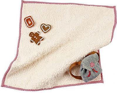 Käthe Kruse 38297 - Puppe Picknickdecke mit Lebkuchen