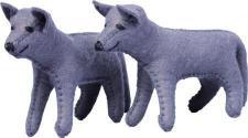 GLÜCKSKÄFER 524015 - Wolf, Filz
