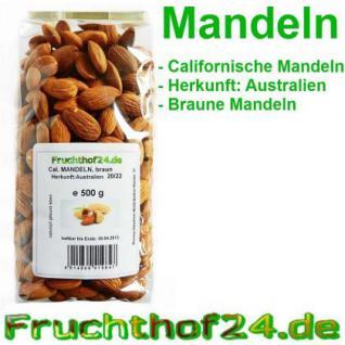 Mandeln - braune - Australien - Mandelkerne - 500g - Vorschau