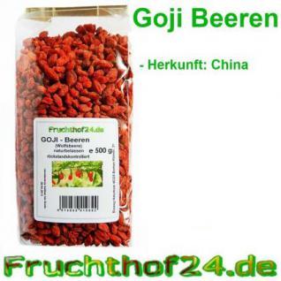 Goji Beeren - getrocknet - ungeschwefelt 3 kg