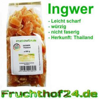 Ingwer -kandiert-ungeschwefelt- 2kg