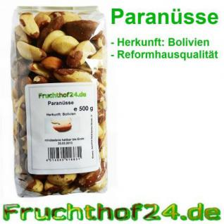 Paranüsse - Natural - Medium - 500g
