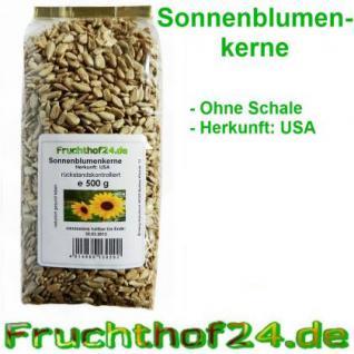 Sonnenblumenkerne - ohne Schale - 500g - Vorschau