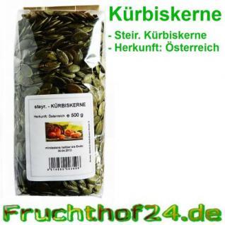 Steirische Kürbiskerne - grün - 1 kg - Vorschau