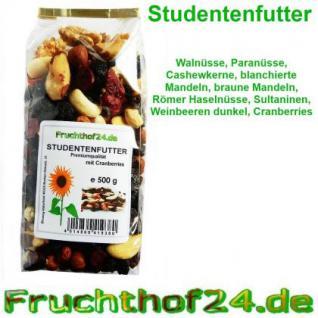 Studentenfutter -Cranberries Walnüsse Cashewkerne.. 1kg - Vorschau