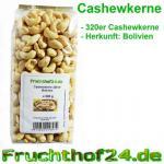 Cashewkerne 320er - Cashew - Natural - 1 kg