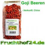 Goji Beeren - getrocknet - 1A Qualität - 500g