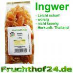 Ingwer -kandiert-ohne Kristallzucker-ungeschwefelt- 1kg