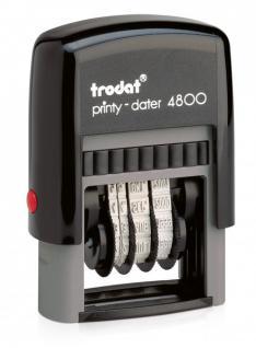 Trodat Printy 4800 Datumstempel (TT.MMM.JJJJ) 3 mm ZH