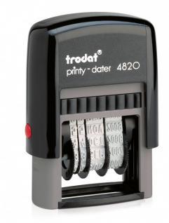 Trodat Printy 4820 Datumstempel (TT.MMM.JJJJ) ZH 4 mm