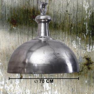 Hängeleuchte auf eine Kette aus Metall, 70 cm Durchmesser