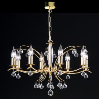 Design Kronleuchte, Gold, Krone 8 flg.