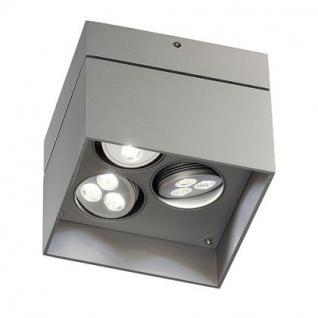 LED Deckenleuchte Stahl/ Aluminium