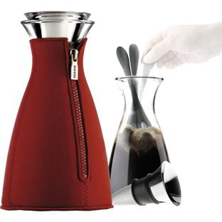 Kaffeezubereiter + Neoprenanzug rot 1 L