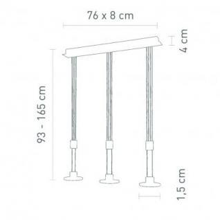 pendelleuchte metall chrom glas transparent led modern. Black Bedroom Furniture Sets. Home Design Ideas