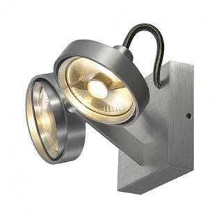 Decken/Wandleuchte/ Strahler Aluminium - Vorschau 1