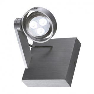 LED Decken/Wandleuchte/ Strahler Aluminium - Vorschau 2