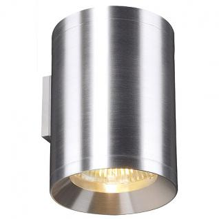 Wandleuchte Aluminium