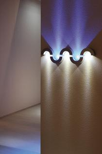 LED Wandleuchte Aluminium LED 6000K - Vorschau 2
