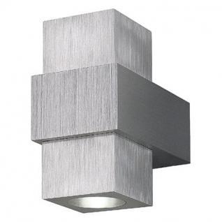 LED Wandleuchte Aluminium