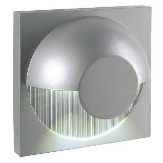 LED Wandleuchte Aluminium LED 6000K