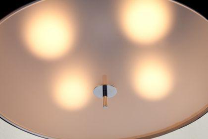 Hängeleuchte, Pendelleuchte mit einem schwarzem Lampenschirm, Ø 60 cm - Vorschau 2